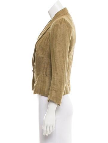 Linen Tweed Blazer