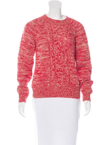 Étoile Isabel Marant Cable-Knit Wool Sweater None