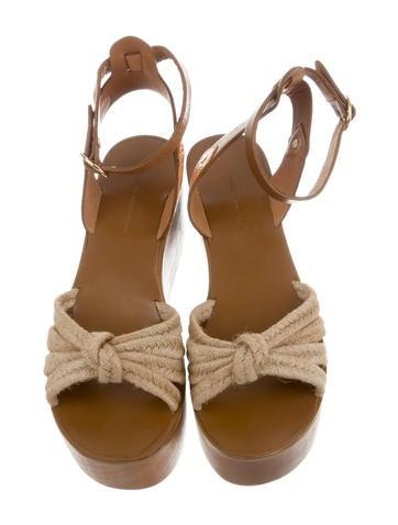 Zia Rope Wedge Sandals