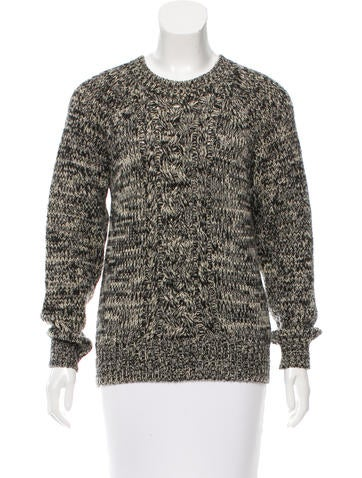 Étoile Isabel Marant Mélange Wool Sweater None