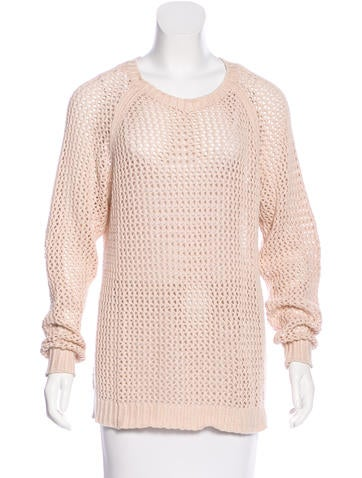Étoile Isabel Marant Open Knit Pullover Sweater None