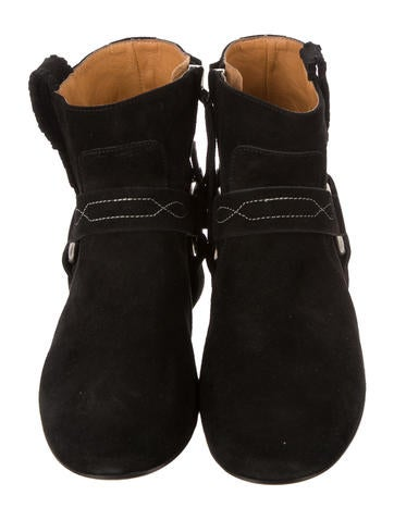 Summer Velvet Ankle Boots w/ Tags