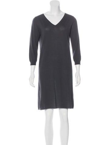 Étoile Isabel Marant Merino Wool Mini Dress None
