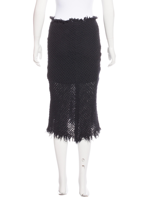 201 toile marant knit midi skirt clothing wet37194