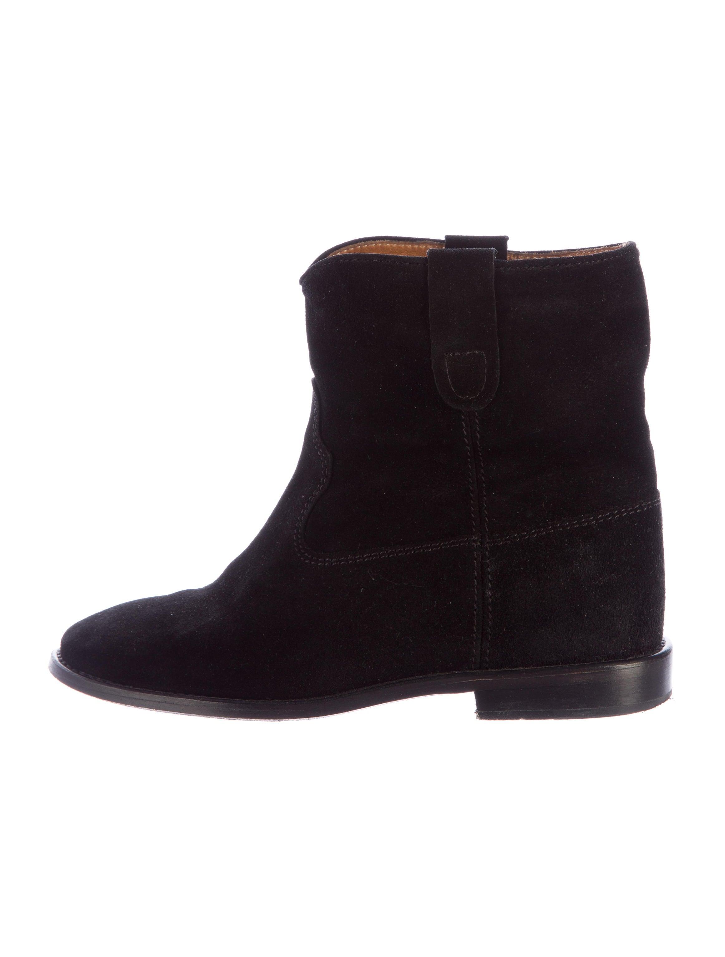201 toile marant crisi suede boots shoes wet37274