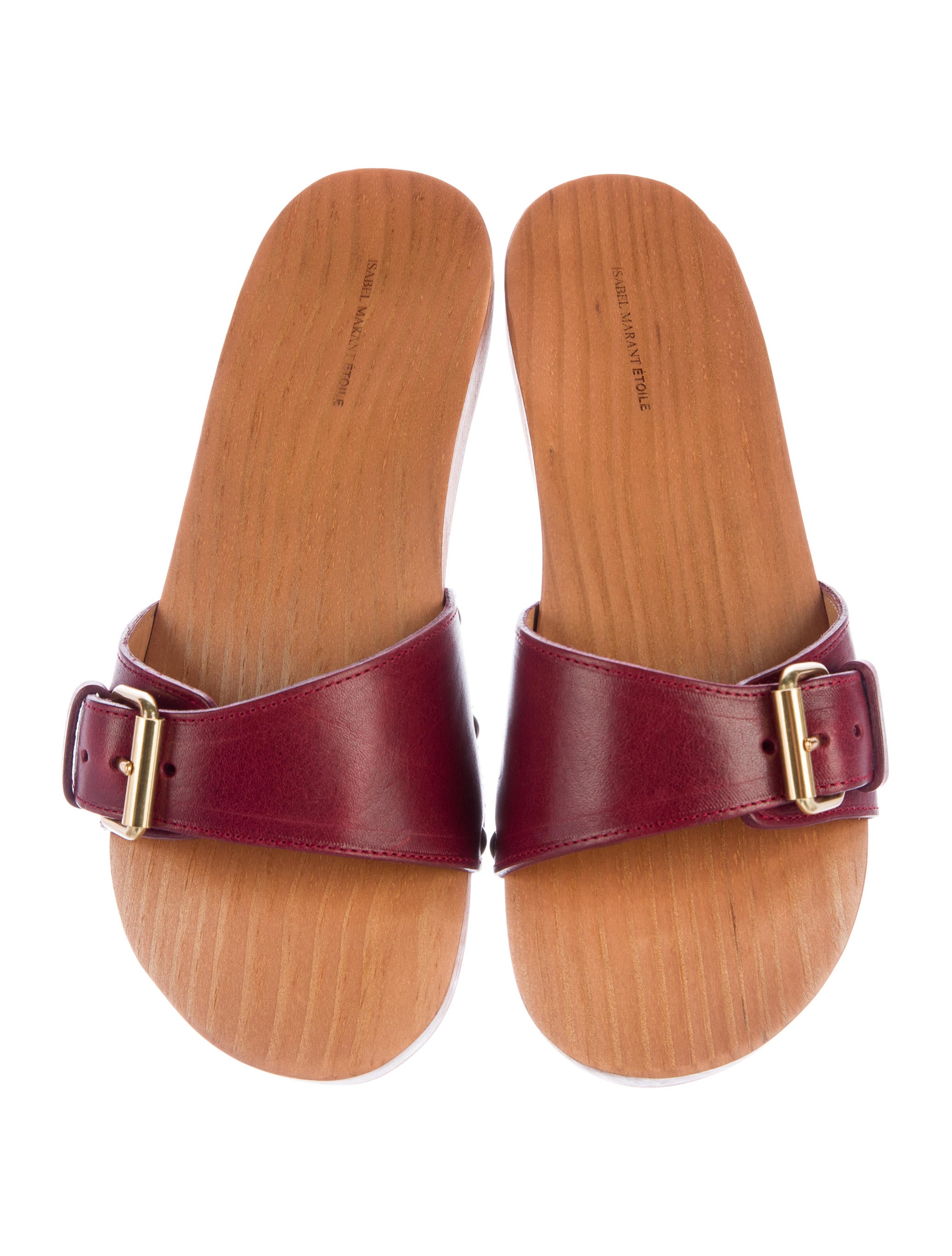 201 Toile Isabel Marant Tadley Slide Sandals W Tags Shoes