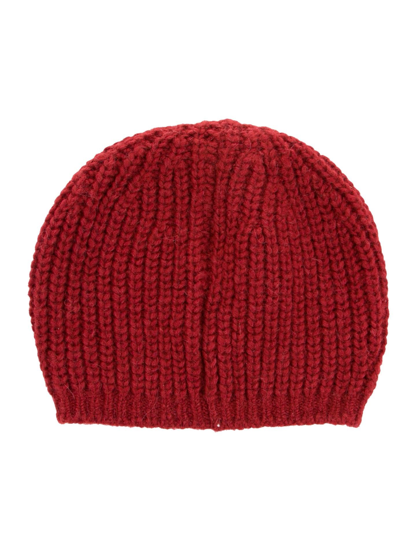 etoile Isabel Marant Alpaca Rib Knit Beanie - Accessories ...