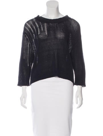 Étoile Isabel Marant Three-Quarter Sleeve Knit Sweater w/ Tags None