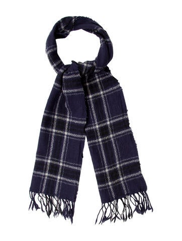 toile isabel marant wool plaid scarf accessories. Black Bedroom Furniture Sets. Home Design Ideas
