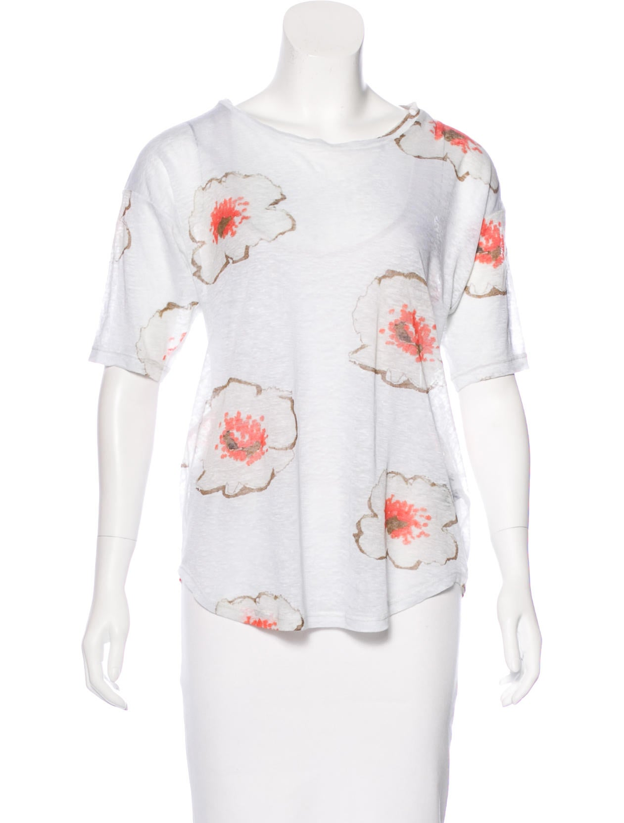 Toile Isabel Marant Linen Jesca T Shirt Clothing