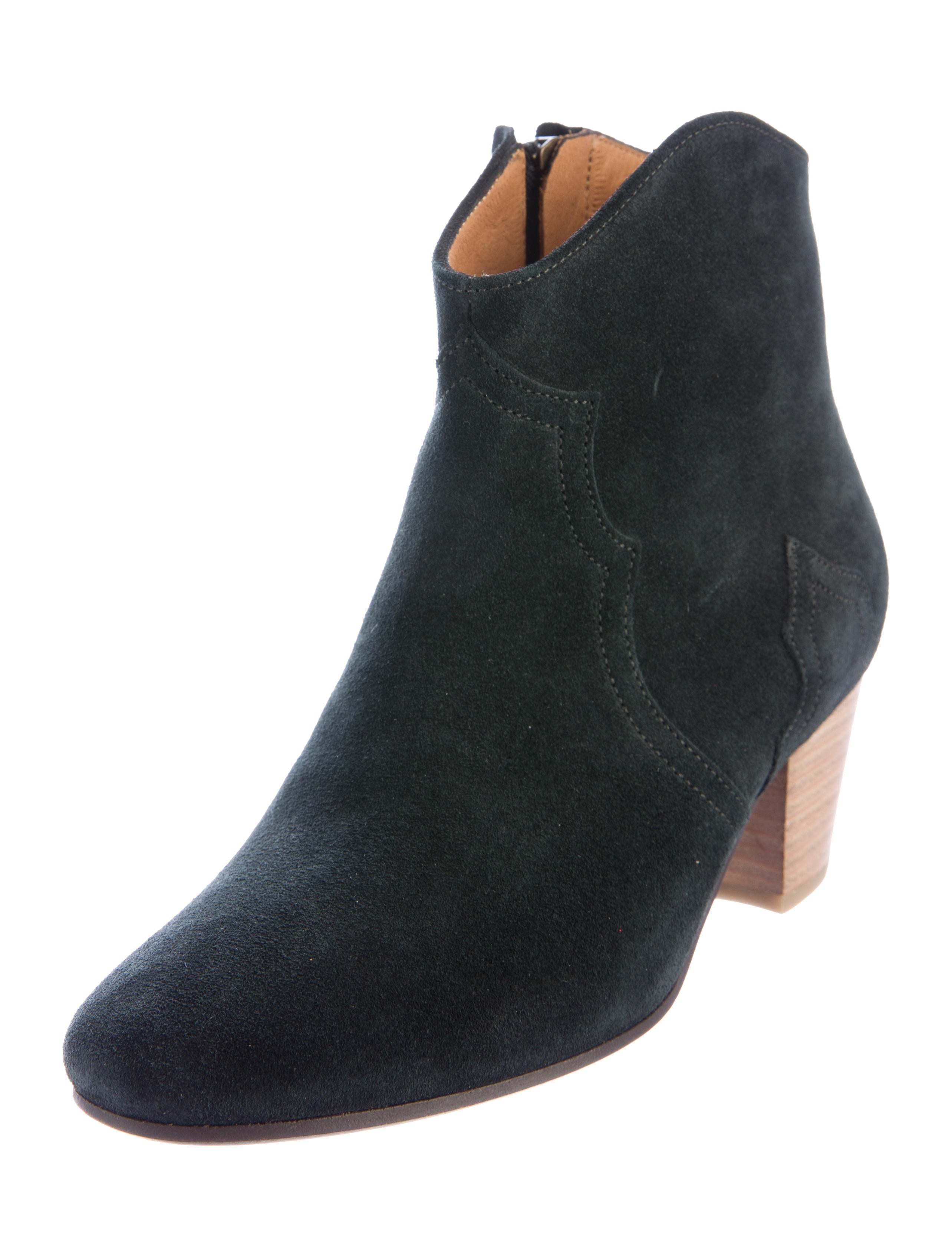 201 toile marant suede dicker ankle boots shoes