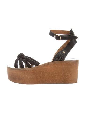 Étoile Isabel Marant Platform Sandals None
