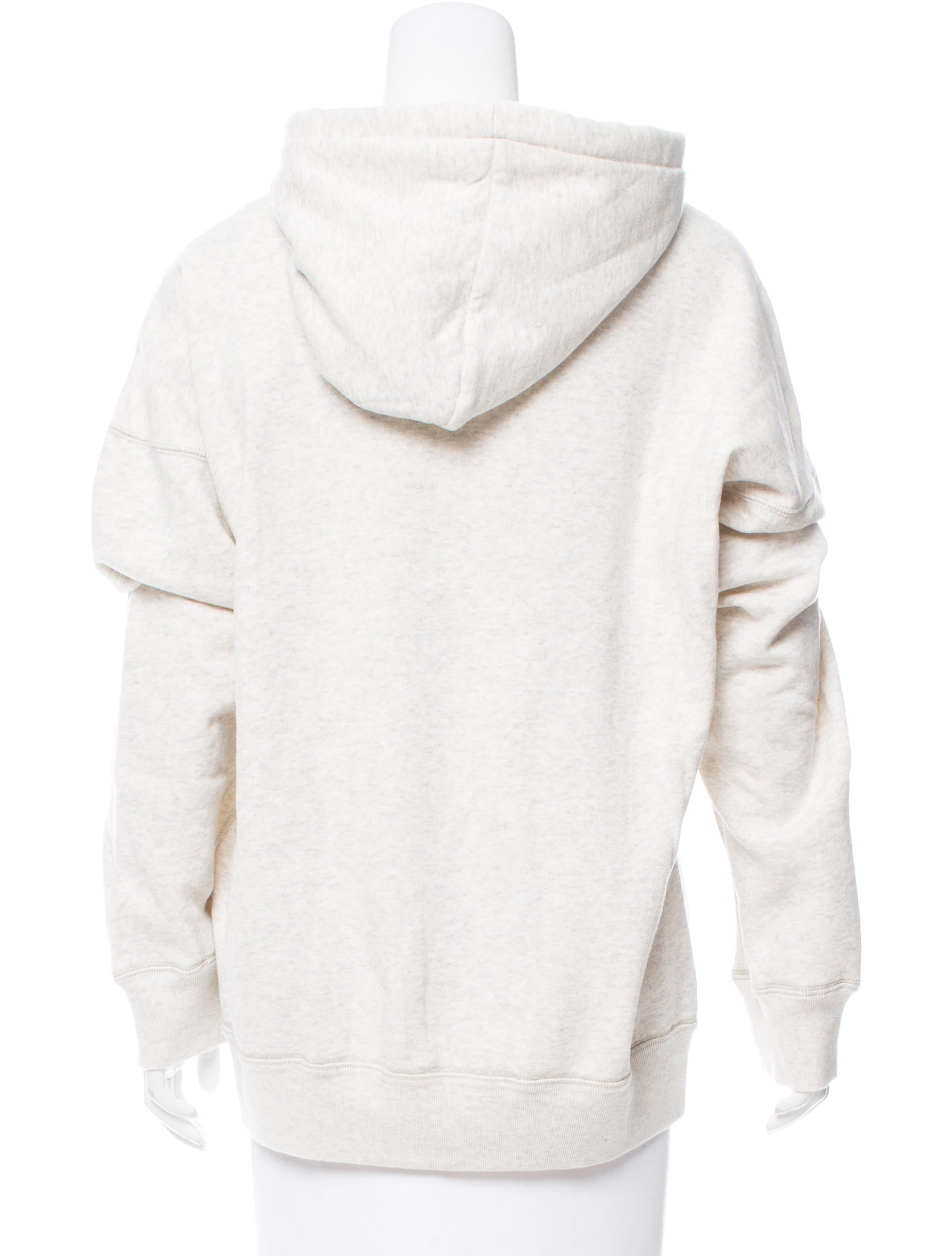 toile isabel marant mansel hooded pullover w tags clothing wet42346 the realreal. Black Bedroom Furniture Sets. Home Design Ideas