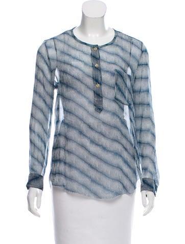 Étoile Isabel Marant Printed Silk Top None