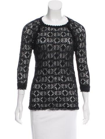 Étoile Isabel Marant Long Sleeve Knit Top None