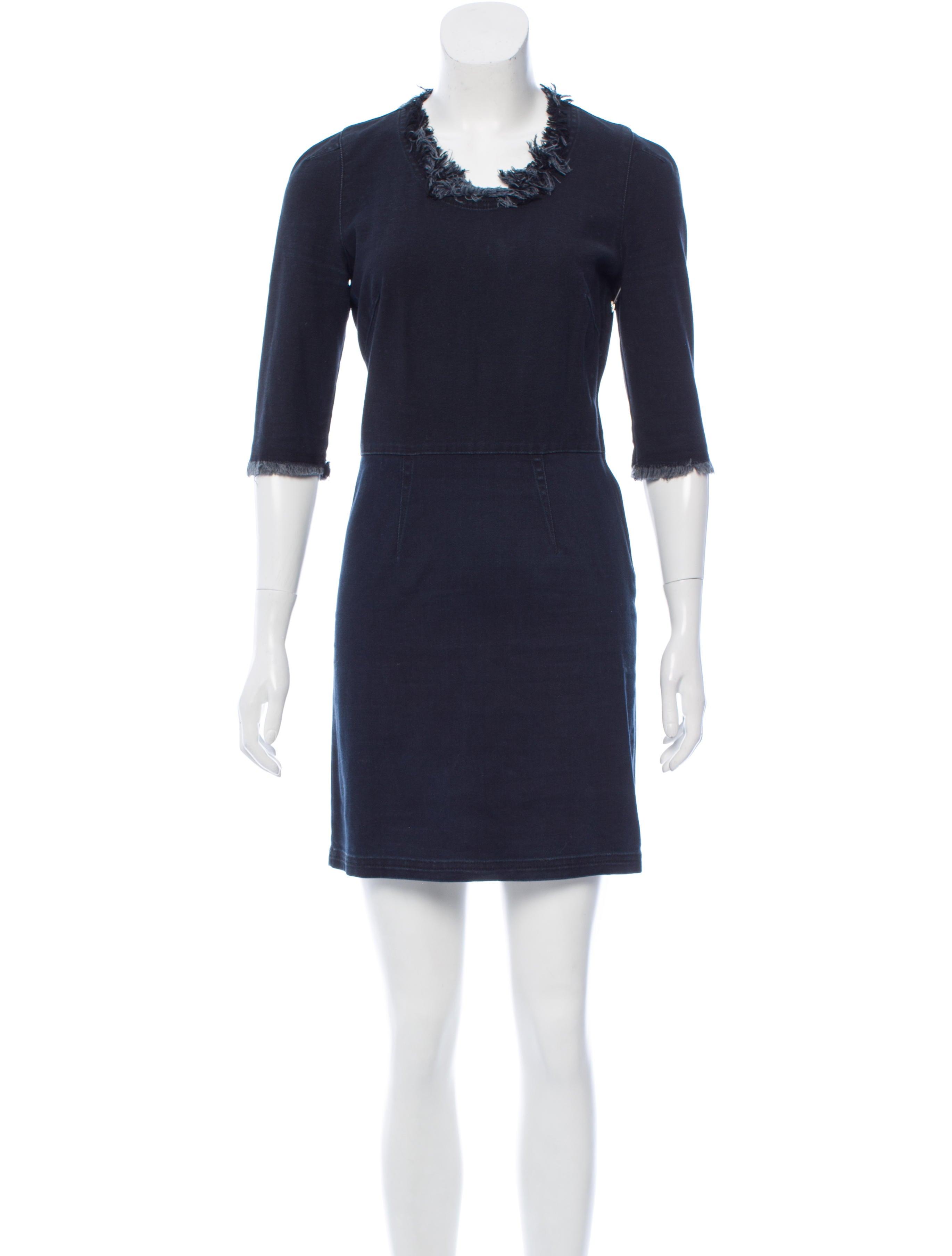 Toile isabel marant denim mini dress clothing for Isabel marant shirt dress