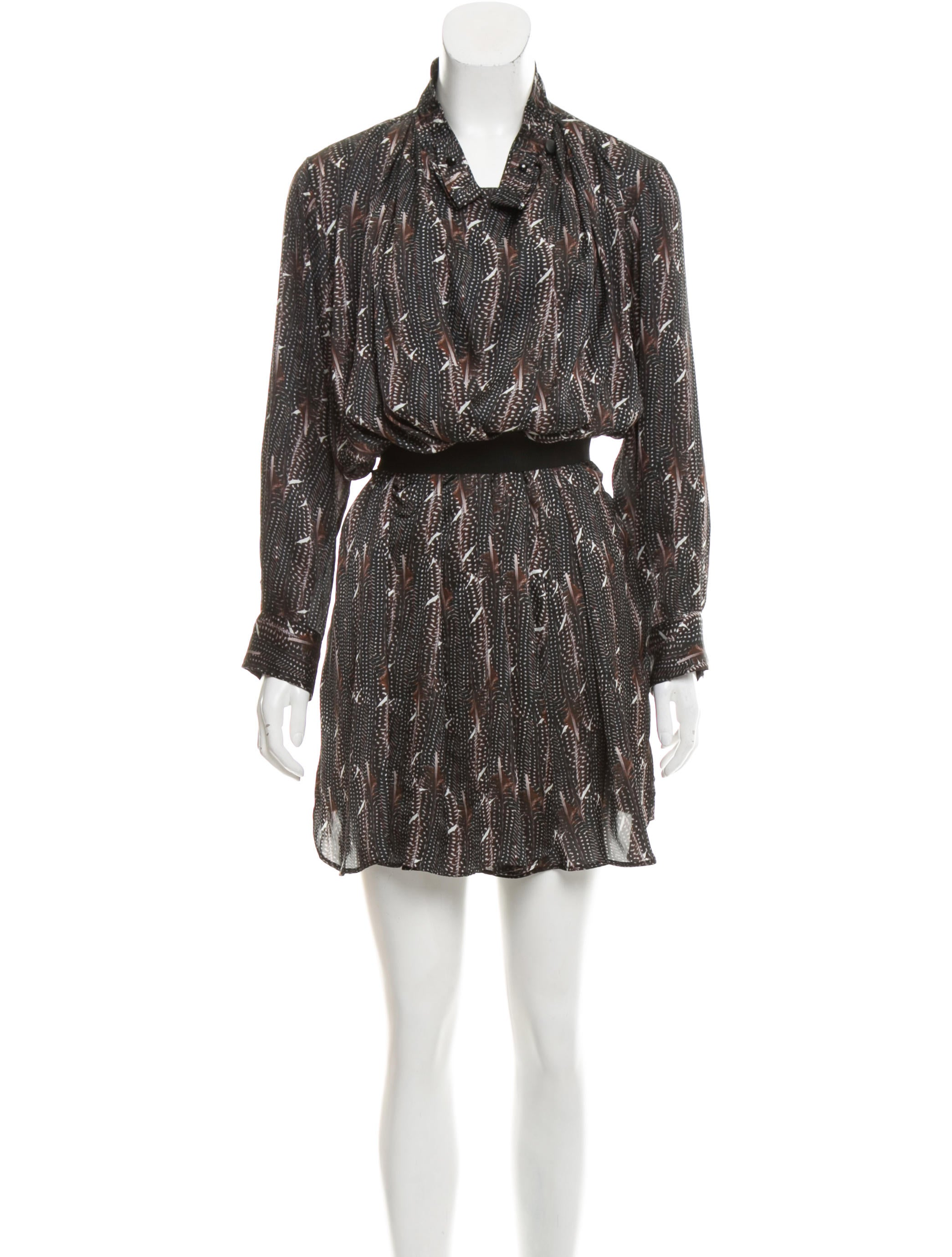 Toile Isabel Marant Printed Shirt Dress Clothing