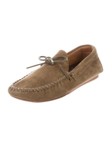outlet with mastercard Étoile Isabel Marant Suede Round-Toe Moccasins 2014 sale online cheap hot sale cheap get to buy vaRE6e5P89