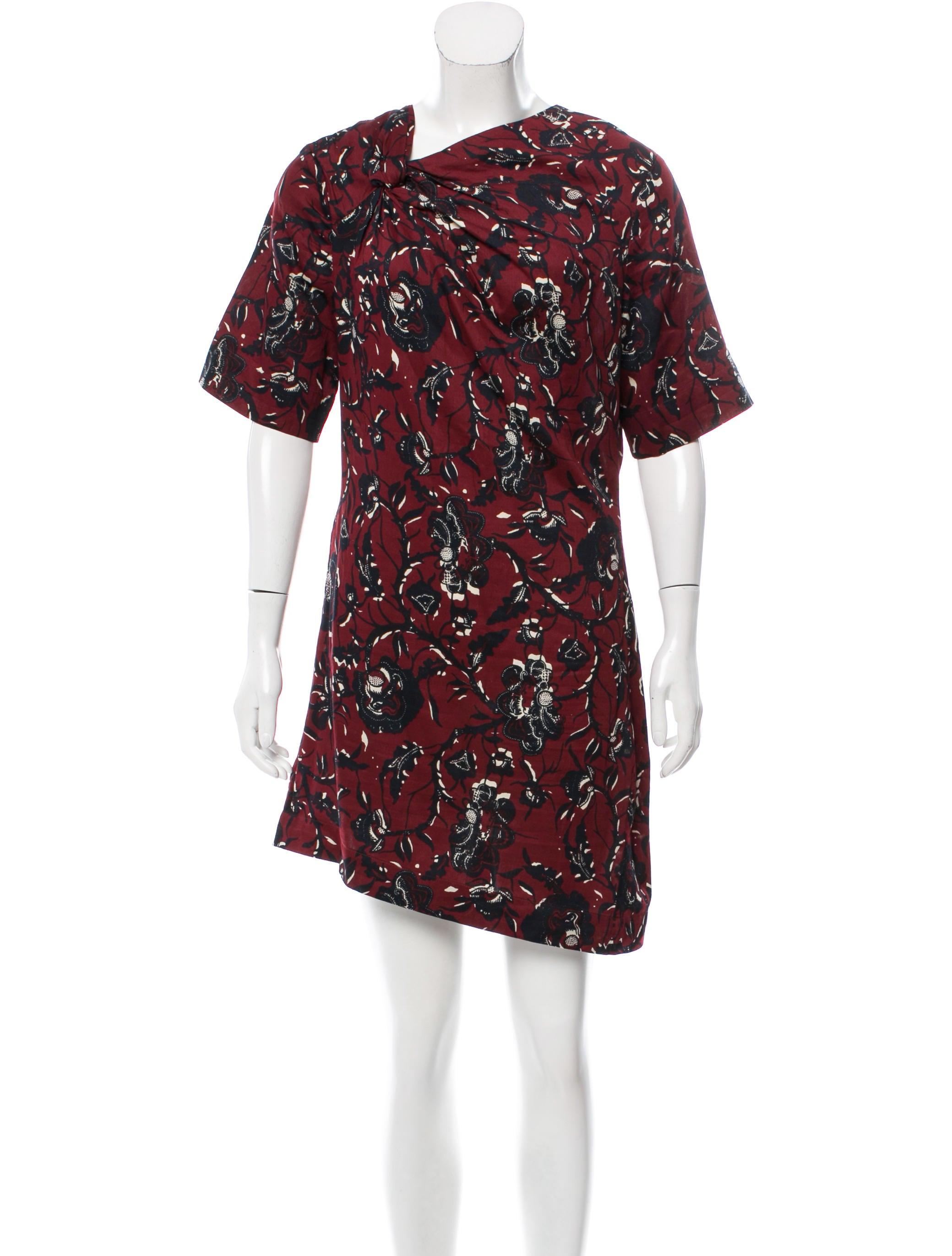 Toile isabel marant printed mini dress clothing for Isabel marant shirt dress