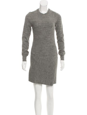 Étoile Isabel Marant Wool-Blend Sweater Dress None