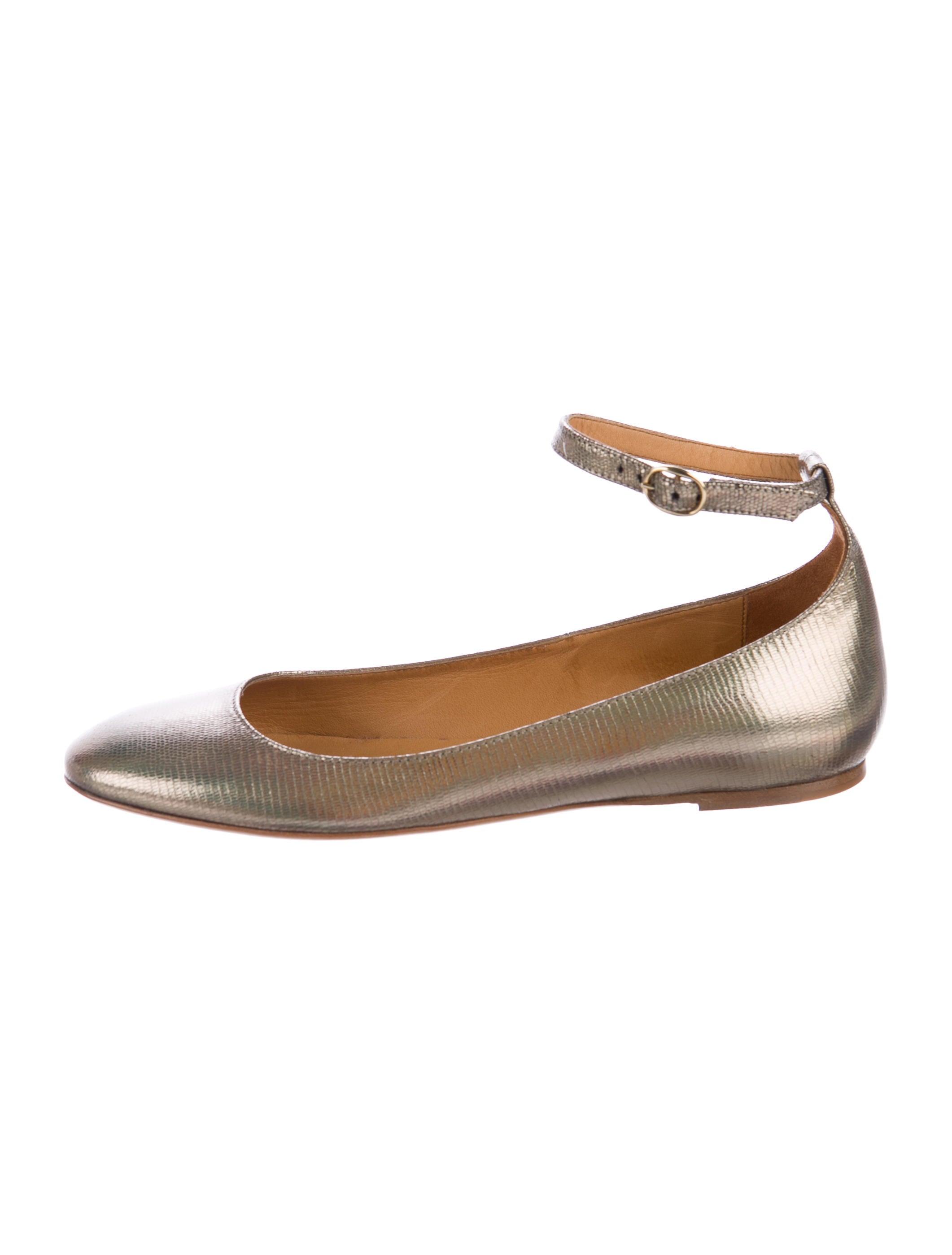 Isabel Marant Embossed Leather Flats best sale online TPt6Dx7VXZ