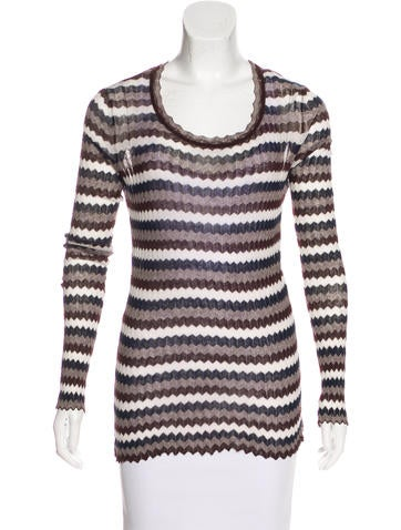 Étoile Isabel Marant Patterned Knit Top None