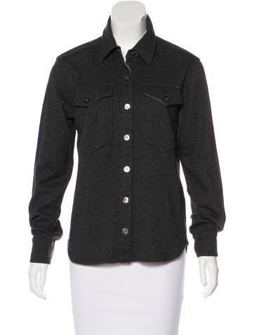 Étoile Isabel Marant Knit Button-Up Top None