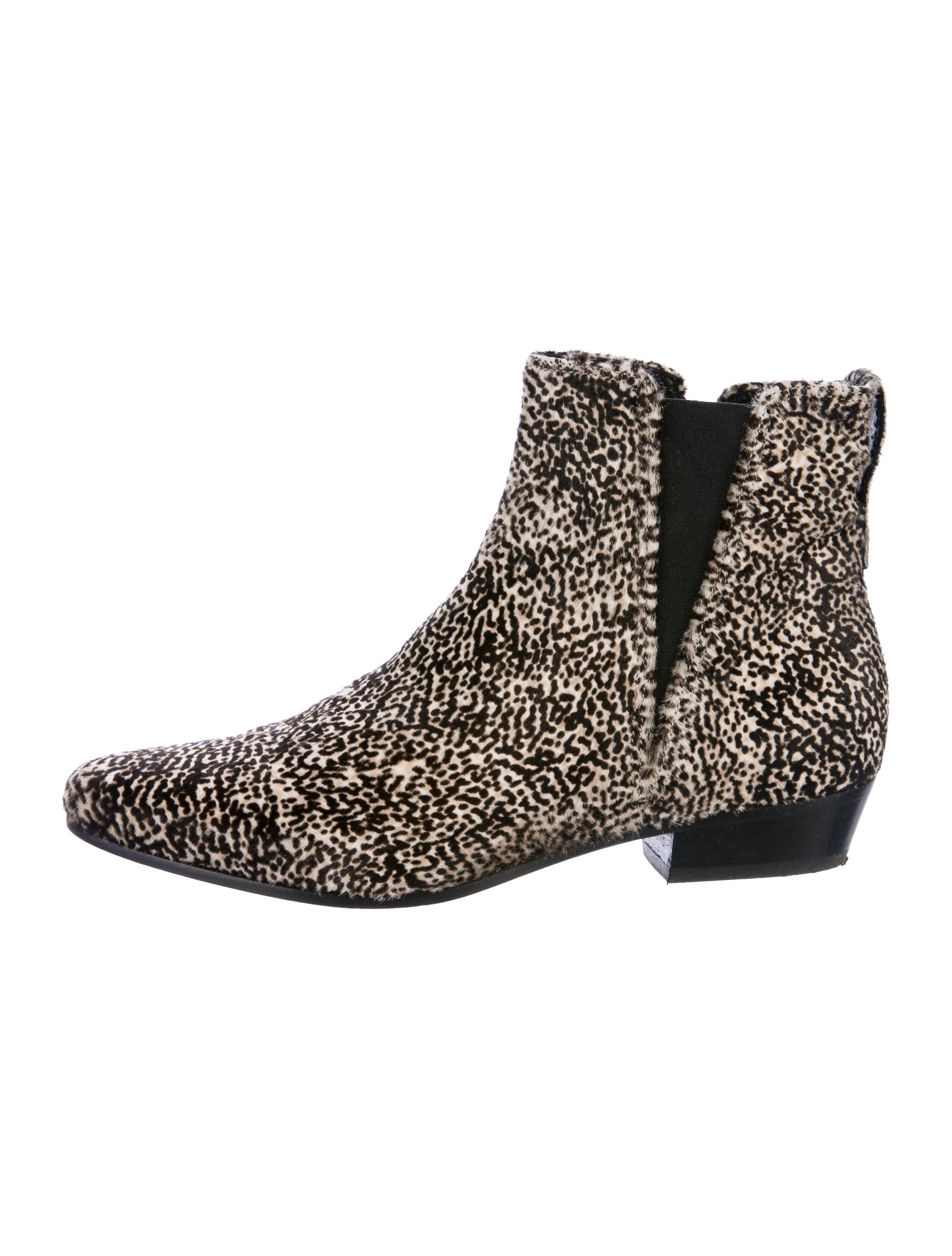 Étoile Isabel Marant Patsha Ponyhair Ankle Boots sale pre order jyOfRO64BA