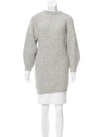 Étoile Isabel Marant Alpaca Sweater Dress None