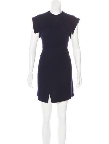 Étoile Isabel Marant Wool-Blend Mini Dress None