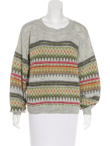 Étoile Isabel Marant Metallic Knit Sweater None
