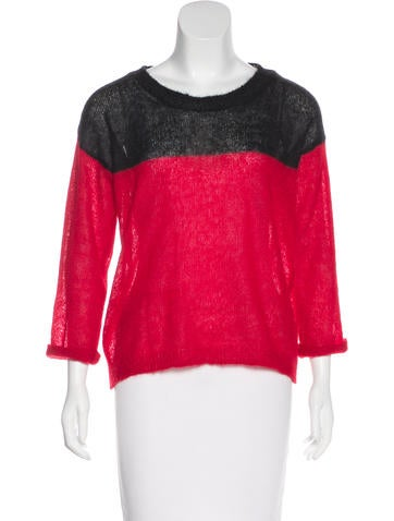 Étoile Isabel Marant Colorblock Knit Sweater None