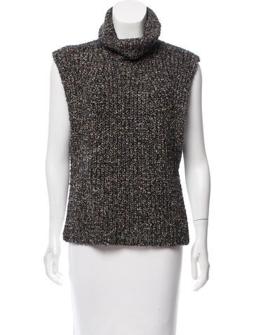 Étoile Isabel Marant Wool Sleeveless Top None