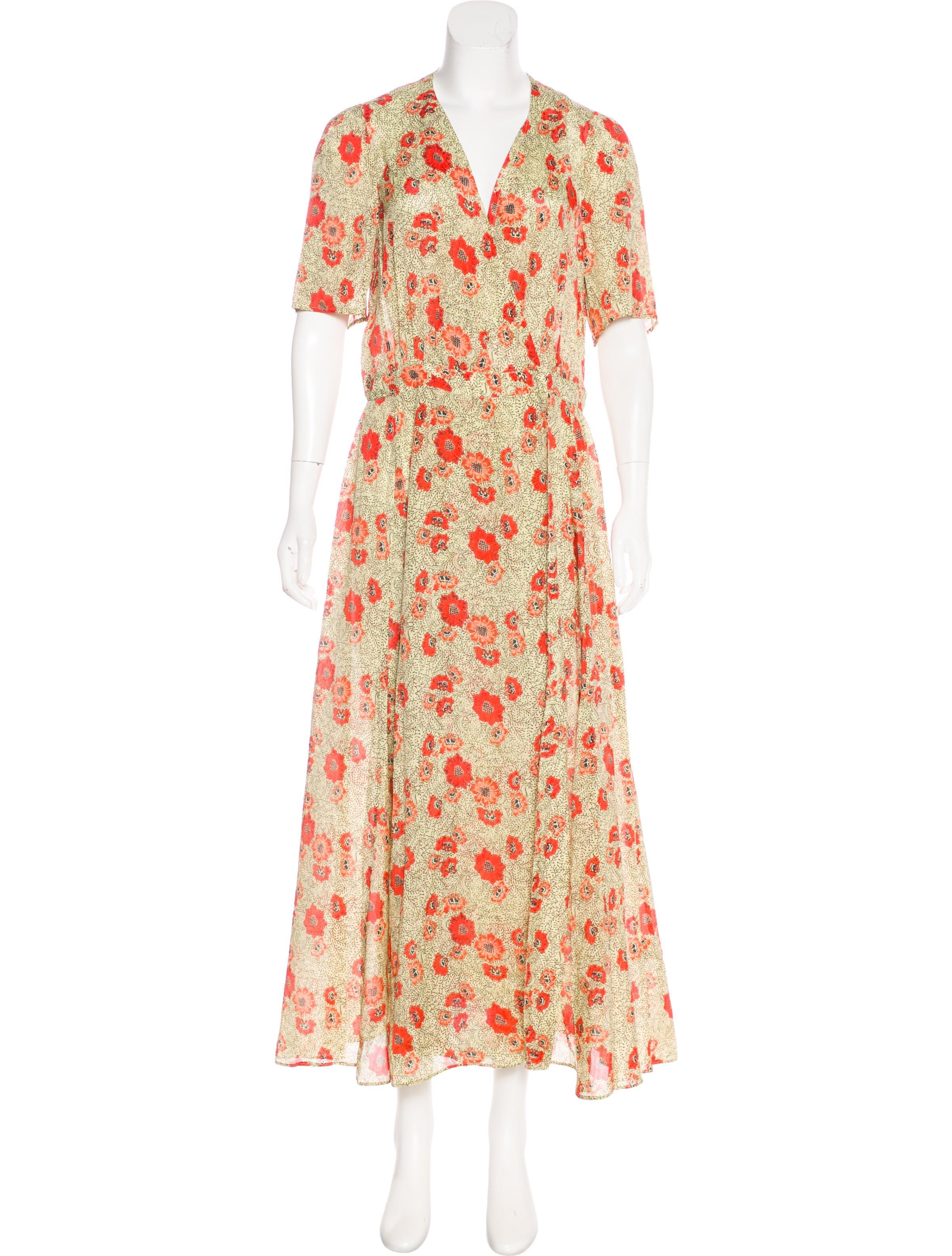 507f9dd00 Étoile Isabel Marant Floral Maxi Dress - Clothing - WET48634 | The ...