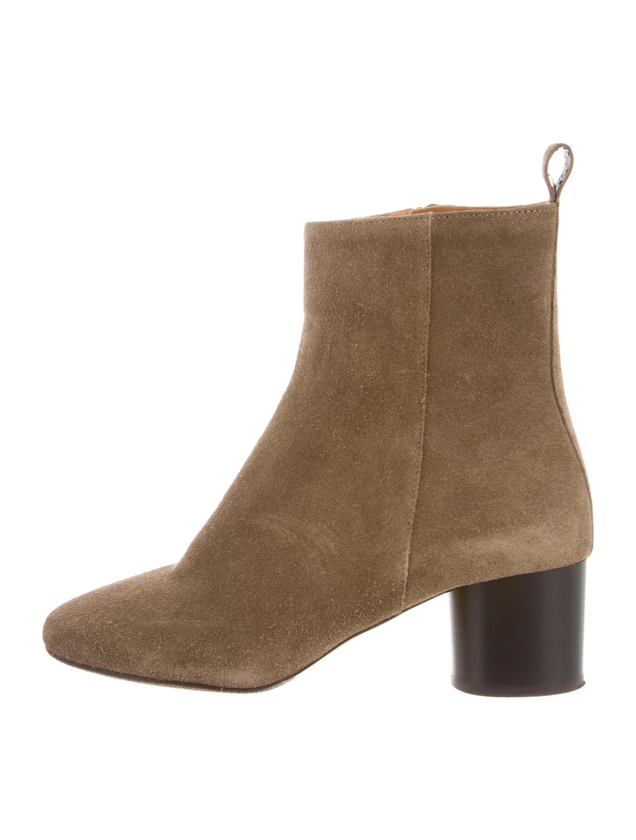 Étoile Isabel Marant Suede Round-Toe Ankle Boots comfortable cheap online clearance big sale online store many kinds of cheap price clearance online amazon F7Hr5OL