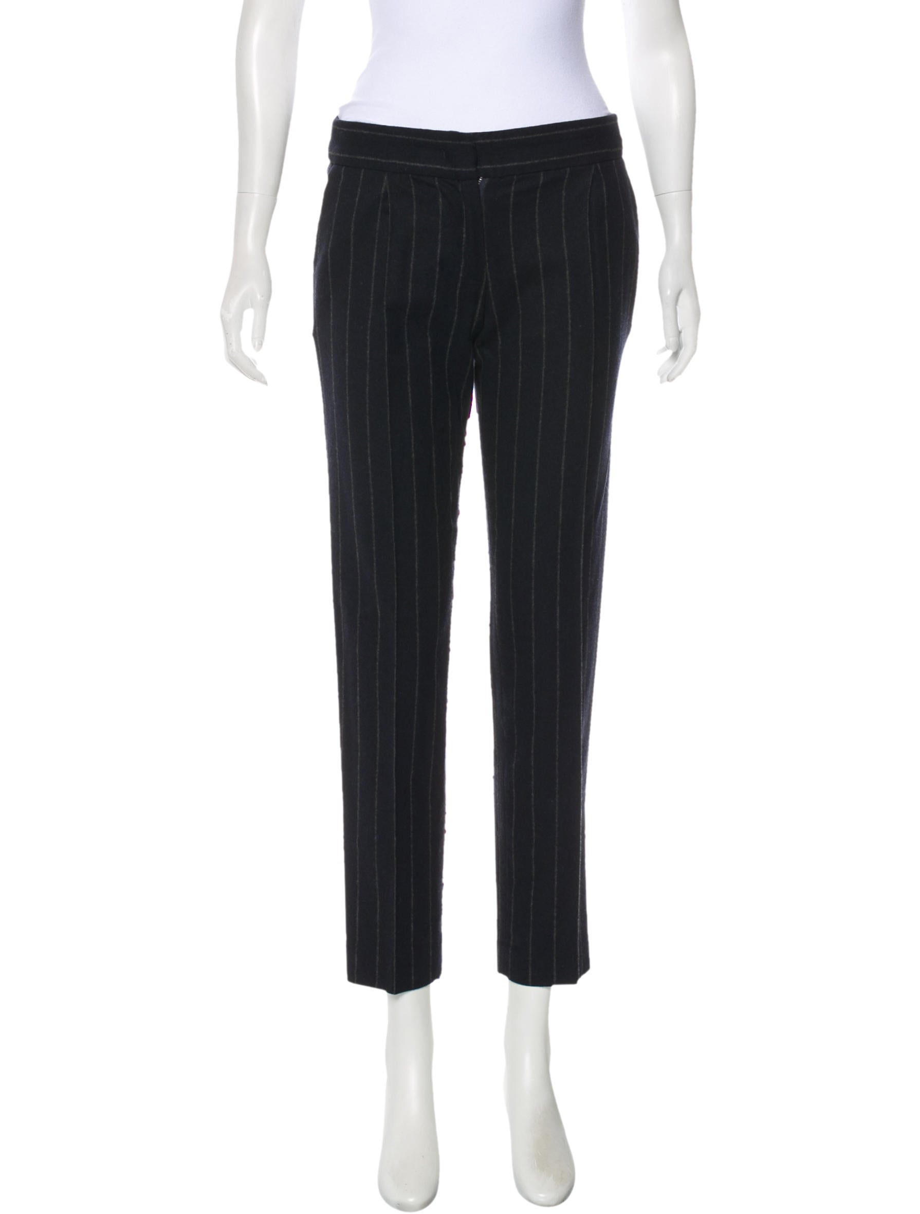 Wool Striped Pants by Étoile Isabel Marant