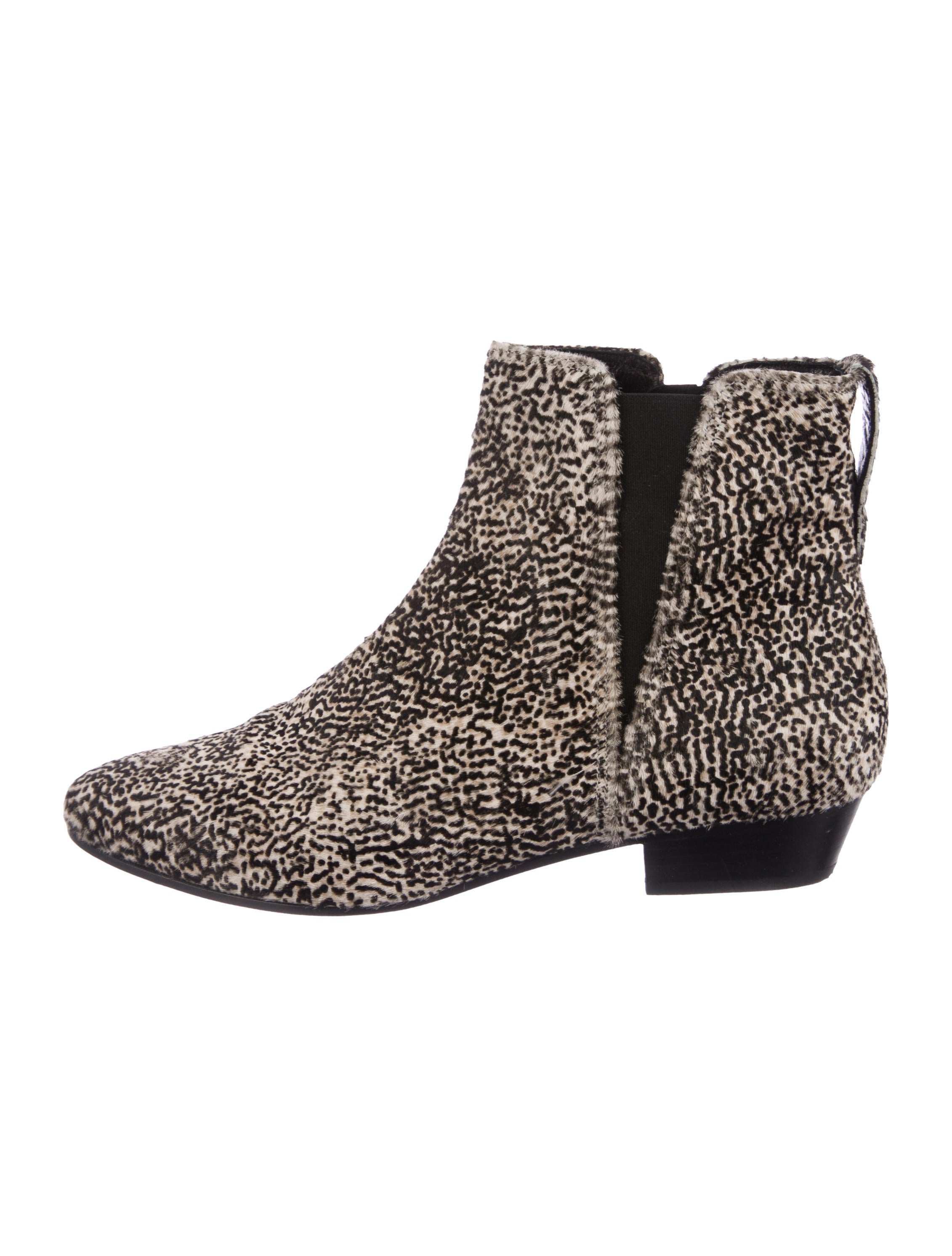 Étoile Isabel Marant Ponyhair Pointed-Toe Booties outlet shop offer free shipping sale real outlet 2014 new u8rxsz