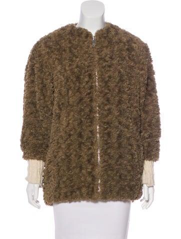 Étoile Isabel Marant Teddy Bear Wool Jacket None