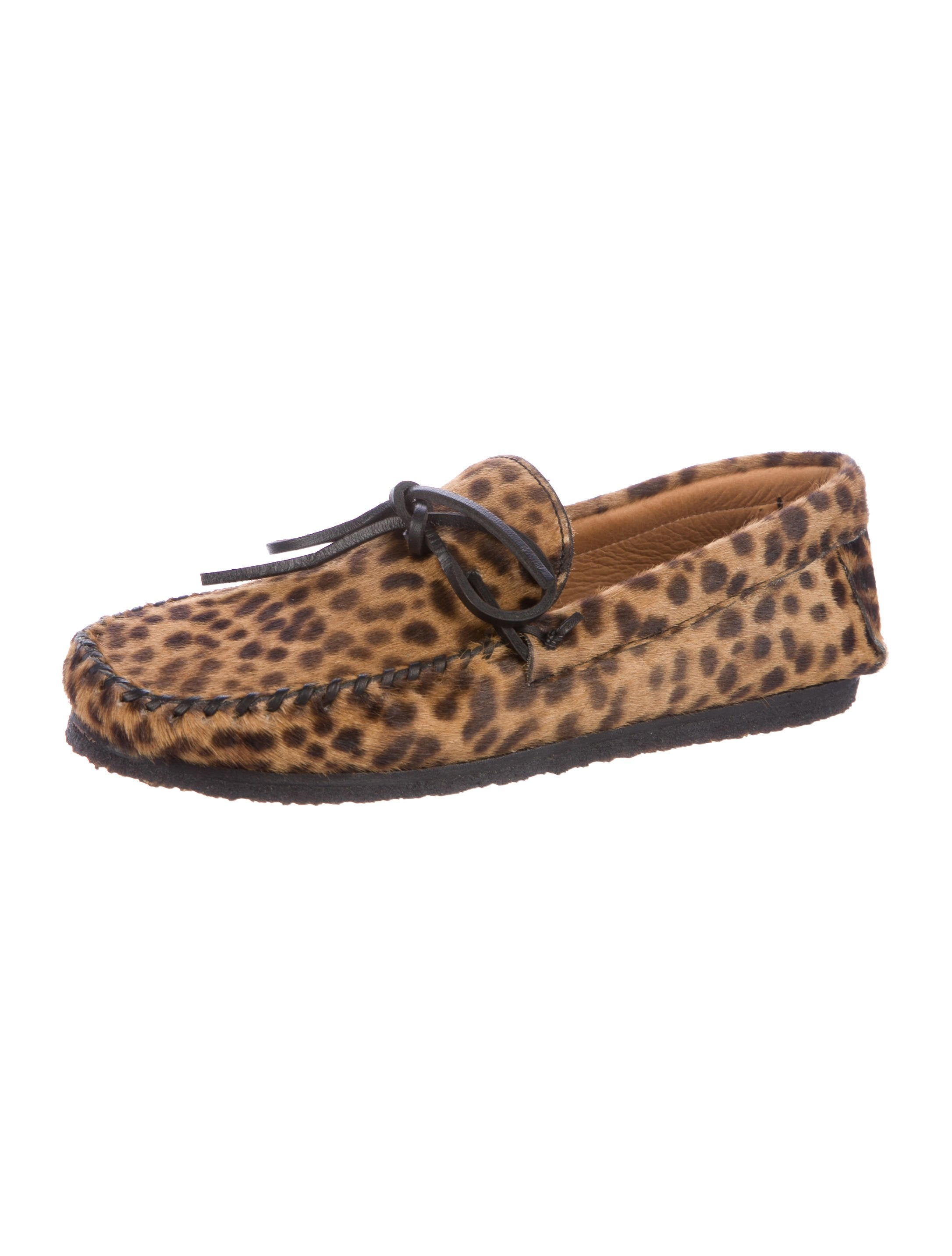 Étoile Isabel Marant Printed Ponyhair Moccasins sale 2015 new cheap new 2015 new sale online eastbay cheap price wholesale online UAYhk
