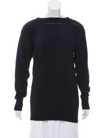 Étoile Isabel Marant Bateau-Neck Wool Sweater None