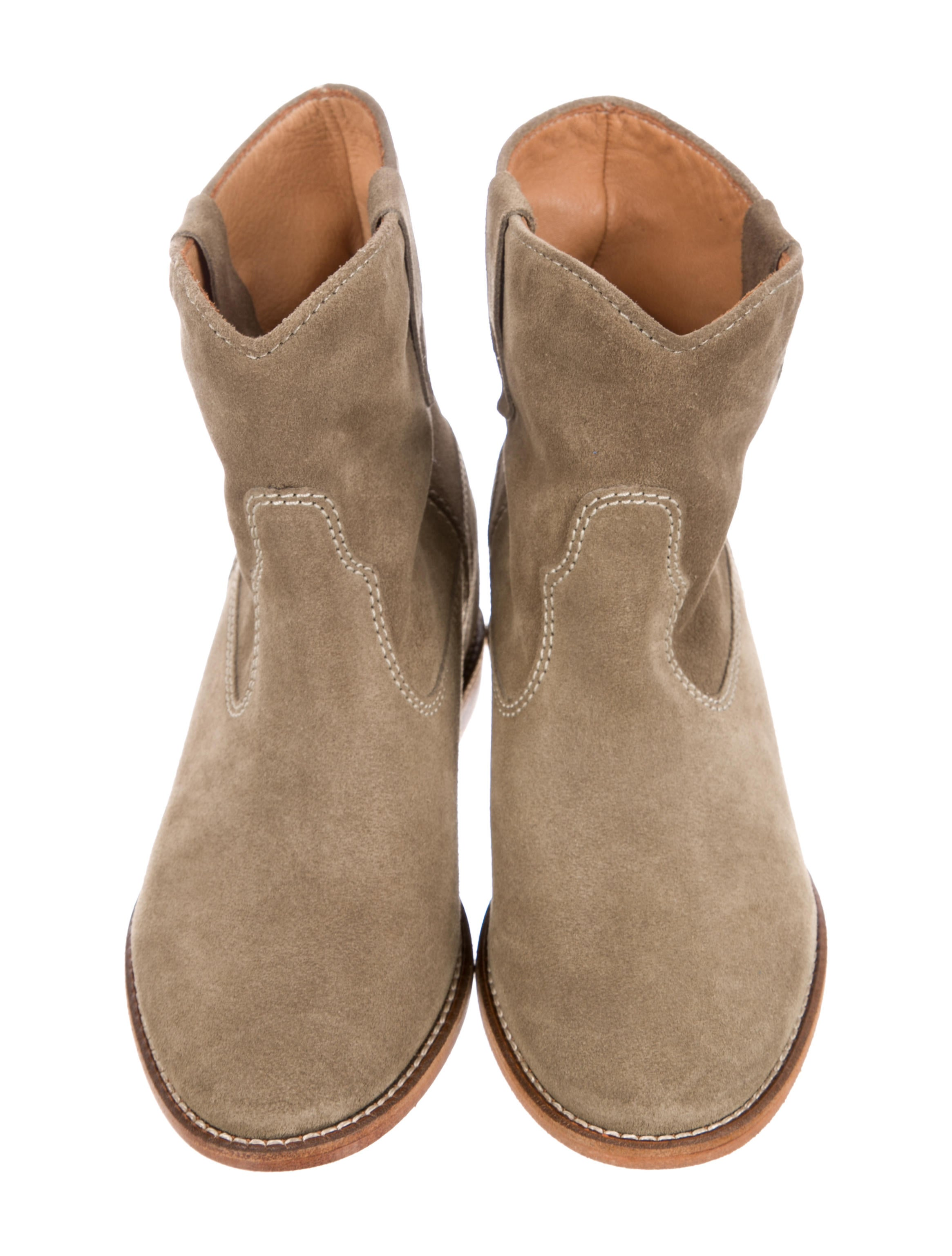 Isabel Marant Suede Crisi Ankle Boots w/ Tags brand new unisex sale online sale clearance cheap 2014 new discount Manchester discount high quality 21rud