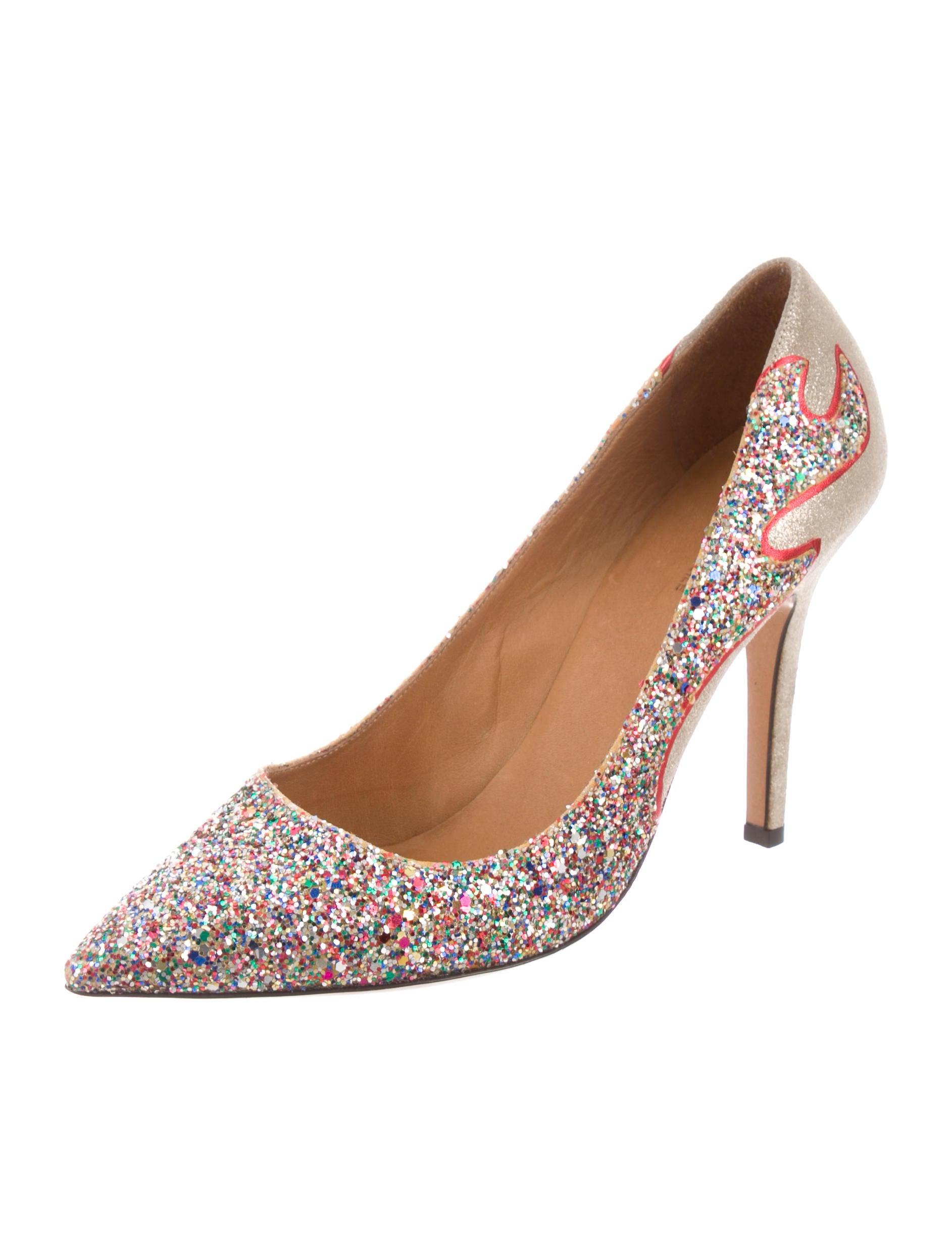 Étoile Isabel Marant Cholita Glitter Pumps supply cheap price fashionable online 6S2ZN2qS