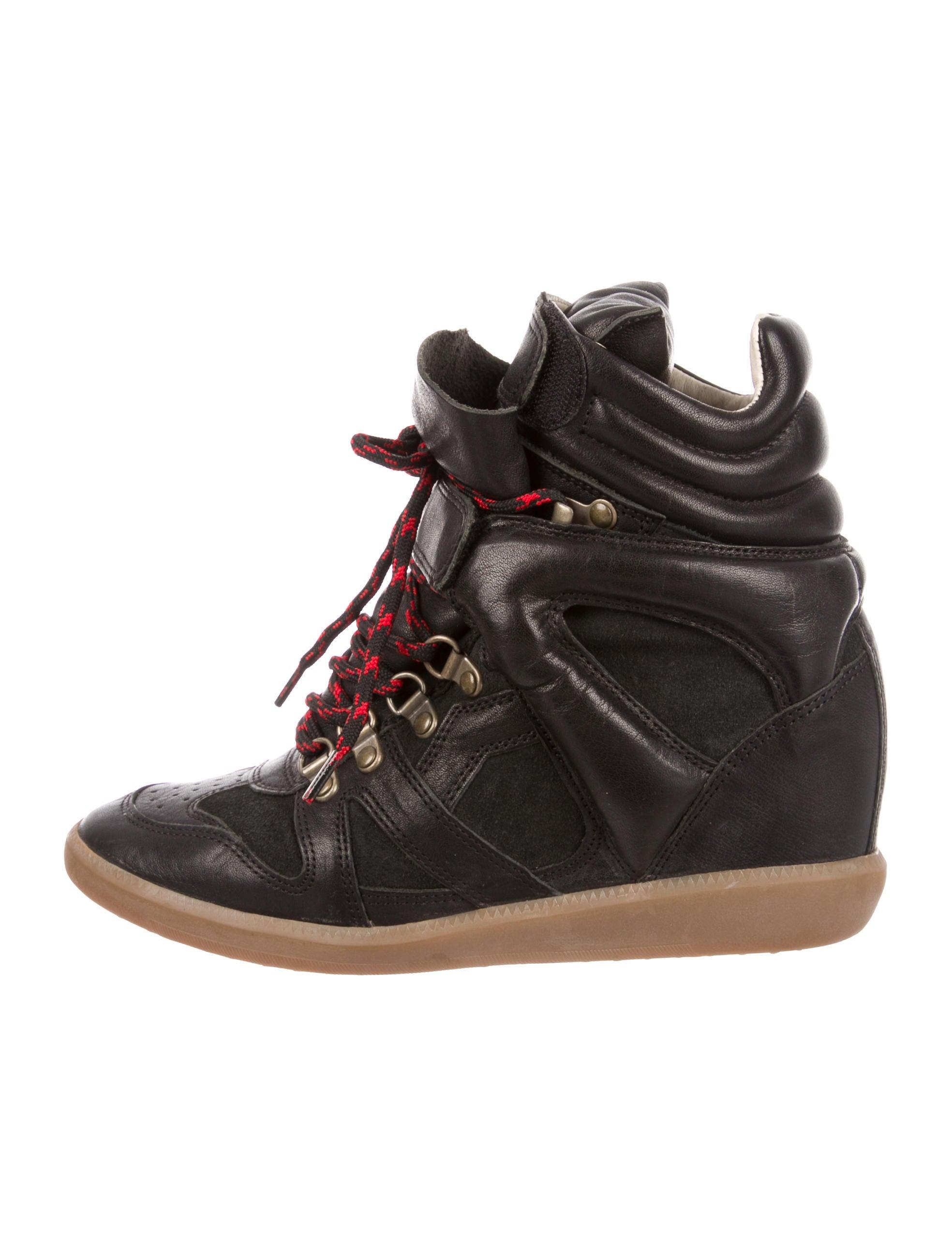 cheap sale sast cheap online store Manchester Étoile Isabel Marant Tibetan Wedge Sneakers AhAP10kTx