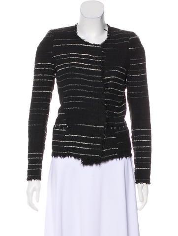 Étoile Isabel Marant Textured Knit Jacket None