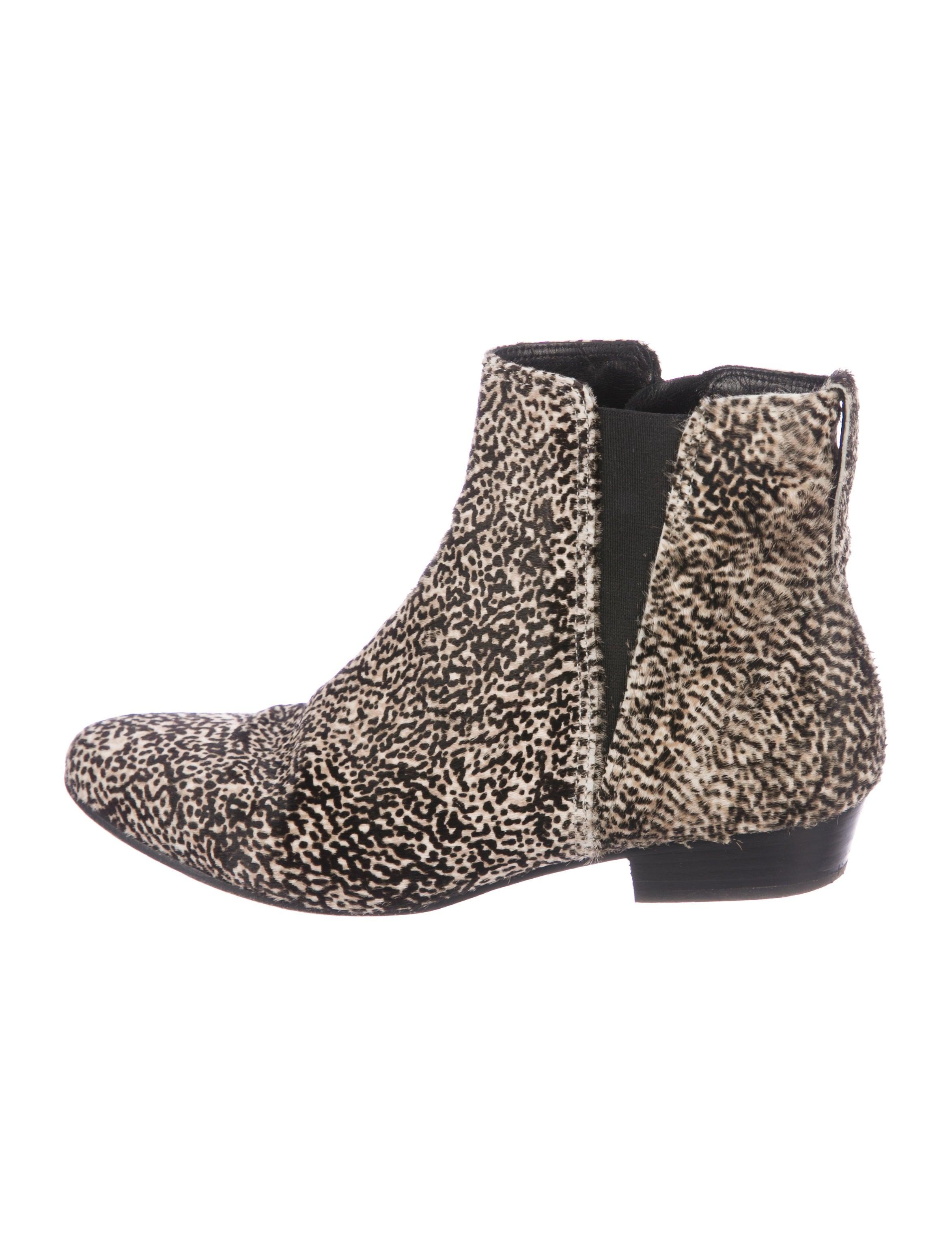 Étoile Isabel Marant Ponyhair Patsha Booties sale shop offer authentic cheap online aLFXCMCKz