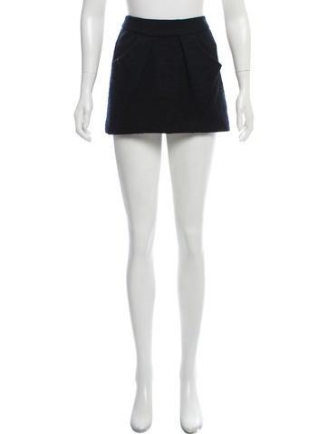 Étoile Isabel Marant Textured Mini Skirt by Étoile Isabel Marant
