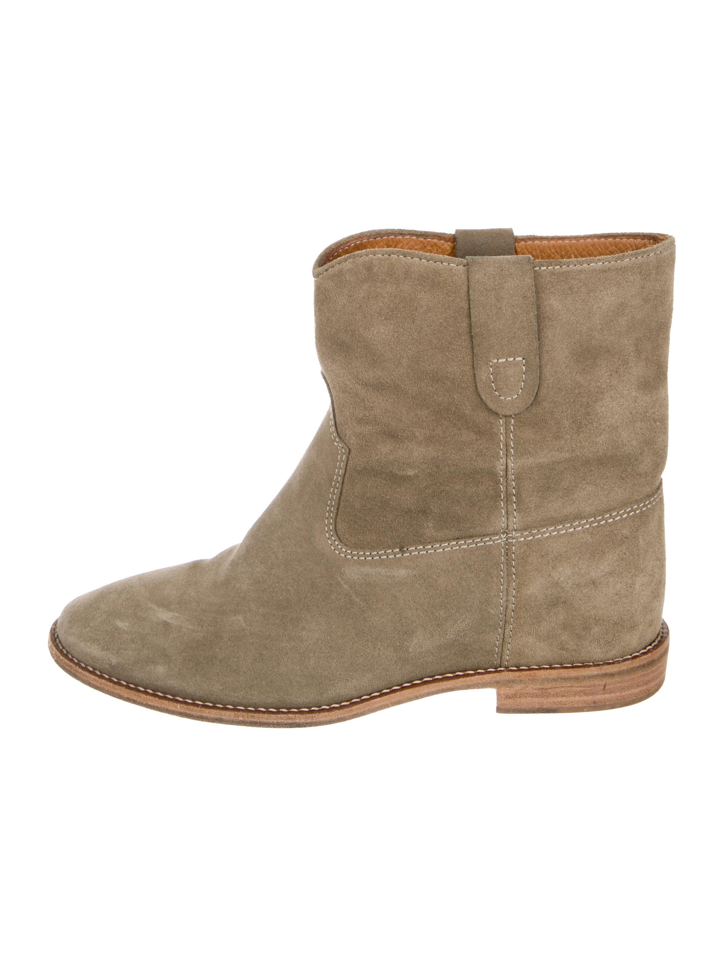 Étoile Isabel Marant Suede Ankle Boots - Shoes - WET64456  e06f425254bd