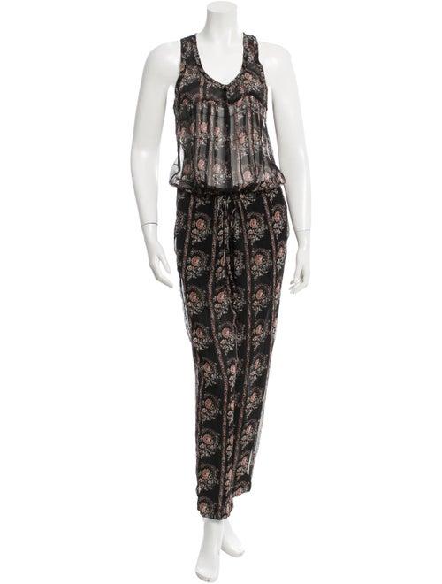 Étoile Isabel Marant Silk Printed Jumpsuit w/ Tags