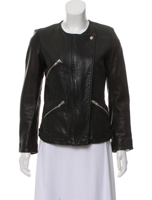 Leather Moto Jacket by Étoile Isabel Marant