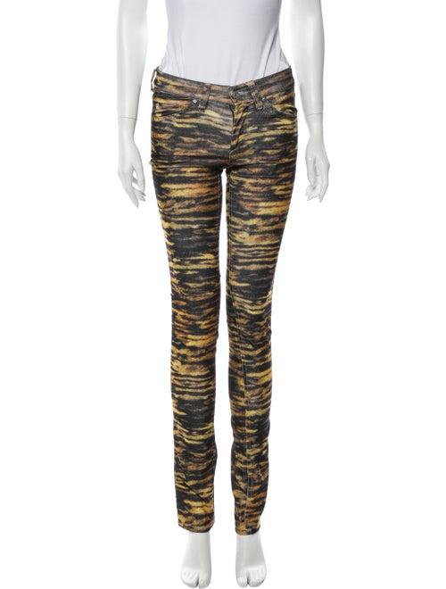 Étoile Isabel Marant Animal Print Skinny Leg Pant… - image 1